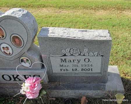 VOKES, MARY O (CLOSE UP) - Cleburne County, Arkansas | MARY O (CLOSE UP) VOKES - Arkansas Gravestone Photos