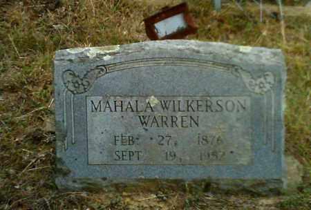 WILKERSON WARREN, MAHALA - Cleburne County, Arkansas   MAHALA WILKERSON WARREN - Arkansas Gravestone Photos