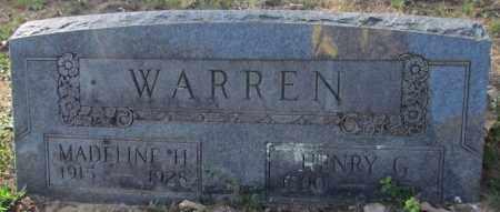 WARREN, MADELINE H - Cleburne County, Arkansas | MADELINE H WARREN - Arkansas Gravestone Photos
