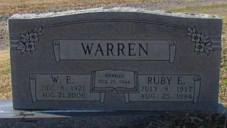 WARREN, RUBY E - Cleburne County, Arkansas | RUBY E WARREN - Arkansas Gravestone Photos