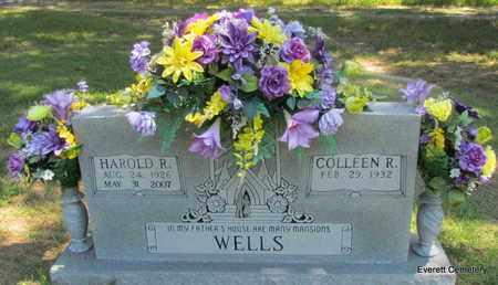 WELLS, HAROLD R - Cleburne County, Arkansas | HAROLD R WELLS - Arkansas Gravestone Photos