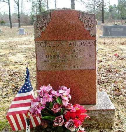 WILDMAN (VETERAN KOR, KIA), JESSE - Cleburne County, Arkansas | JESSE WILDMAN (VETERAN KOR, KIA) - Arkansas Gravestone Photos