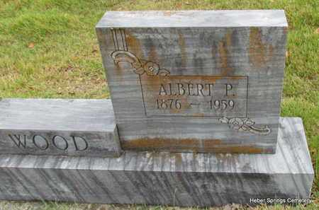 WOOD, ALBERT P (CLOSE UP) - Cleburne County, Arkansas | ALBERT P (CLOSE UP) WOOD - Arkansas Gravestone Photos