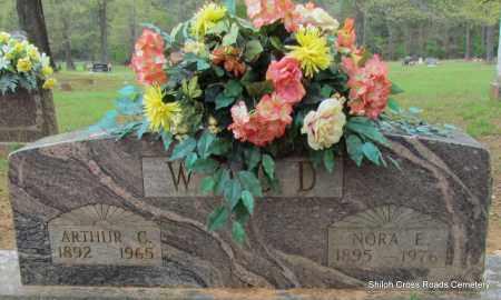 WOOD, NORA E - Cleburne County, Arkansas | NORA E WOOD - Arkansas Gravestone Photos