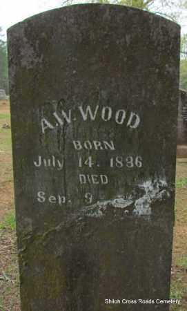 WOOD, ANDREW W - Cleburne County, Arkansas   ANDREW W WOOD - Arkansas Gravestone Photos