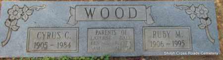 WOOD, CYRUS C - Cleburne County, Arkansas | CYRUS C WOOD - Arkansas Gravestone Photos