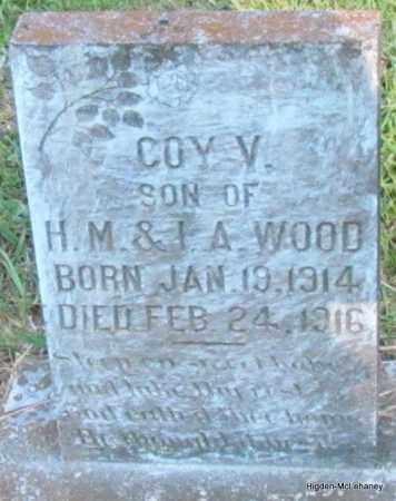 WOOD, COY V - Cleburne County, Arkansas | COY V WOOD - Arkansas Gravestone Photos