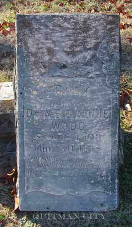 WOOD, DAUGHTER - Cleburne County, Arkansas | DAUGHTER WOOD - Arkansas Gravestone Photos