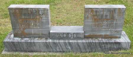 WOOD, EDNA W - Cleburne County, Arkansas | EDNA W WOOD - Arkansas Gravestone Photos