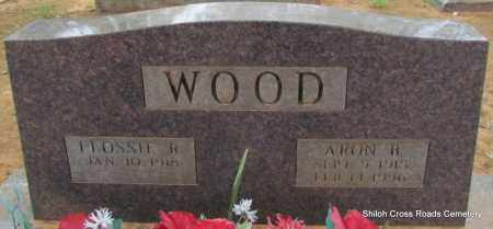 WOOD, FLOSSIE R - Cleburne County, Arkansas | FLOSSIE R WOOD - Arkansas Gravestone Photos
