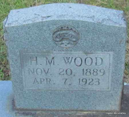 WOOD, H M - Cleburne County, Arkansas | H M WOOD - Arkansas Gravestone Photos