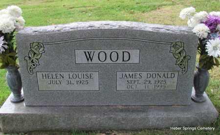 WOOD, JAMES DONALD - Cleburne County, Arkansas | JAMES DONALD WOOD - Arkansas Gravestone Photos