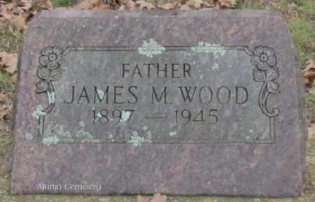 WOOD, JAMES M - Cleburne County, Arkansas | JAMES M WOOD - Arkansas Gravestone Photos