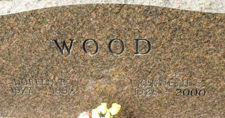 WOOD, KENNETH S - Cleburne County, Arkansas | KENNETH S WOOD - Arkansas Gravestone Photos