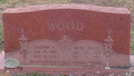 WOOD, MARIE - Cleburne County, Arkansas | MARIE WOOD - Arkansas Gravestone Photos