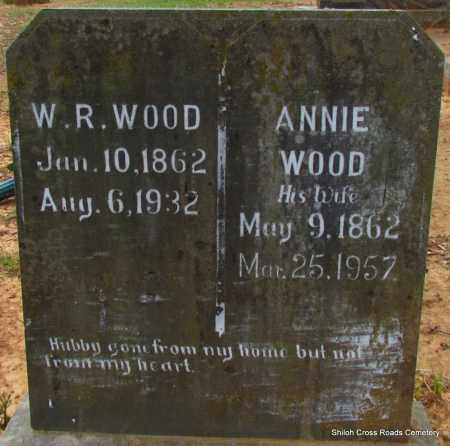 WOOD, ANNIE - Cleburne County, Arkansas | ANNIE WOOD - Arkansas Gravestone Photos
