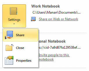 OneNote 2010 Office Web Apps Sync