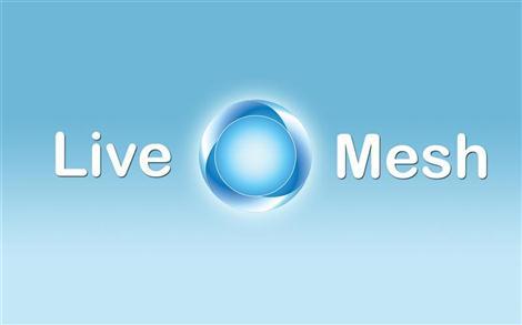 Microsoft Live Mesh wallpaper