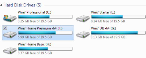 Windows 7 Required Disc Space