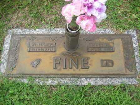 STALLARD FINE, MARY M - Brevard County, Florida | MARY M STALLARD FINE - Florida Gravestone Photos