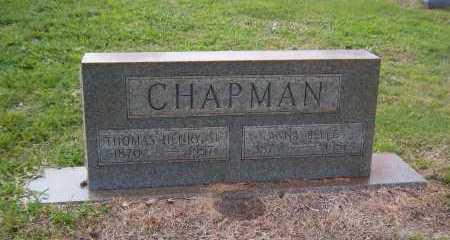 CHAPMAN, ANNA BELLE - Broward County, Florida | ANNA BELLE CHAPMAN - Florida Gravestone Photos