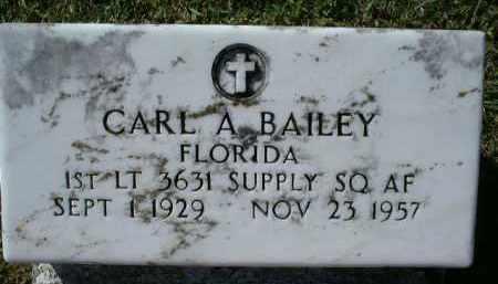 BAILEY (VETERAN), CARL A - Charlotte County, Florida   CARL A BAILEY (VETERAN) - Florida Gravestone Photos
