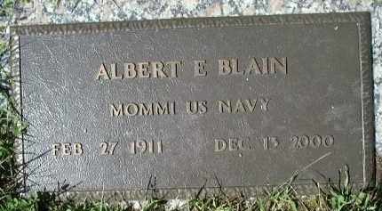 BLAIN (VETERAN), ALBERT ELZEAR (NEW) - Charlotte County, Florida | ALBERT ELZEAR (NEW) BLAIN (VETERAN) - Florida Gravestone Photos