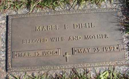 DIEHL, MABEL E - Charlotte County, Florida | MABEL E DIEHL - Florida Gravestone Photos
