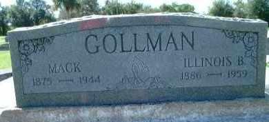 GOLLMAN, ILLINOIS B. - Charlotte County, Florida | ILLINOIS B. GOLLMAN - Florida Gravestone Photos