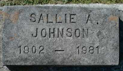 JOHNSON, SALLIE A. - Charlotte County, Florida | SALLIE A. JOHNSON - Florida Gravestone Photos