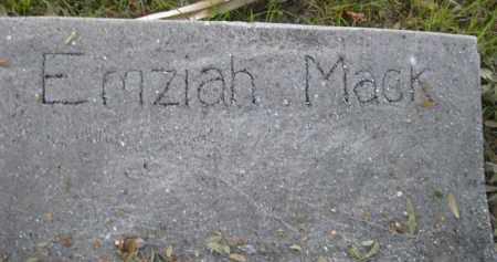 MACK, EMZIAH - Charlotte County, Florida   EMZIAH MACK - Florida Gravestone Photos