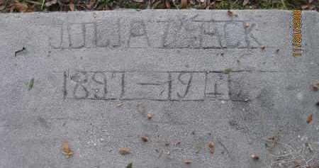 MACK, JULIA - Charlotte County, Florida | JULIA MACK - Florida Gravestone Photos