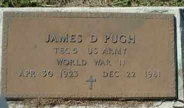 PUGH (VETERAN WWII), JAMES D. - Charlotte County, Florida | JAMES D. PUGH (VETERAN WWII) - Florida Gravestone Photos