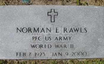 RAWLS, SR (VETERAN WWII), NORMAN E. (NEW) - Charlotte County, Florida | NORMAN E. (NEW) RAWLS, SR (VETERAN WWII) - Florida Gravestone Photos