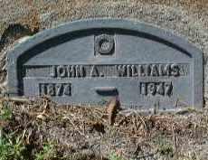 WILLIAMS, JOHN A. - Charlotte County, Florida | JOHN A. WILLIAMS - Florida Gravestone Photos