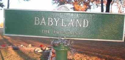 *FOUNTAINS MEMORIAL PARK, BABYLAND MARKER - Citrus County, Florida | BABYLAND MARKER *FOUNTAINS MEMORIAL PARK - Florida Gravestone Photos