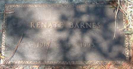 BARNES, RENATE - Citrus County, Florida   RENATE BARNES - Florida Gravestone Photos