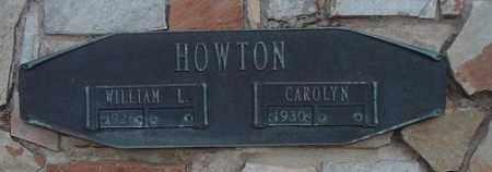 HOWTON, WILLIAM L - Citrus County, Florida | WILLIAM L HOWTON - Florida Gravestone Photos