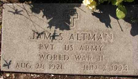 ALTMAN (VETERAN WWII), JAMES - Collier County, Florida | JAMES ALTMAN (VETERAN WWII) - Florida Gravestone Photos