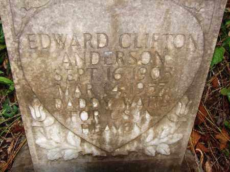 ANDERSON, EDWARD CLIFTON - Collier County, Florida   EDWARD CLIFTON ANDERSON - Florida Gravestone Photos