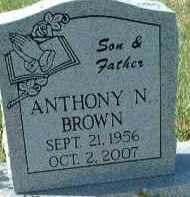 BROWN, ANTHONY N. - Collier County, Florida | ANTHONY N. BROWN - Florida Gravestone Photos