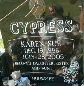 CYPRESS, KAREN SUE - Collier County, Florida | KAREN SUE CYPRESS - Florida Gravestone Photos