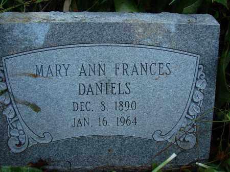 DANIELS, MARY ANN FRANCES - Collier County, Florida | MARY ANN FRANCES DANIELS - Florida Gravestone Photos