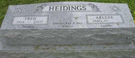 HEIDINGS, FRED - Collier County, Florida | FRED HEIDINGS - Florida Gravestone Photos