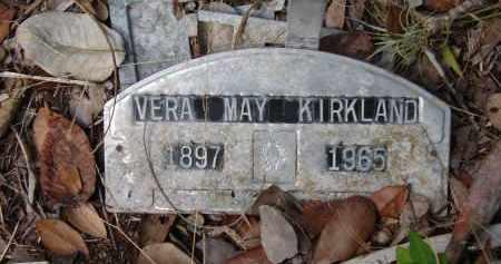 KIRKLAND, VERA MAY - Collier County, Florida | VERA MAY KIRKLAND - Florida Gravestone Photos