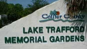 *LAKE TRAFFORD MEMORIAL GARDEN, SIGN - Collier County, Florida   SIGN *LAKE TRAFFORD MEMORIAL GARDEN - Florida Gravestone Photos