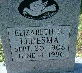 LEDESMA, ELIZABETH G. - Collier County, Florida | ELIZABETH G. LEDESMA - Florida Gravestone Photos