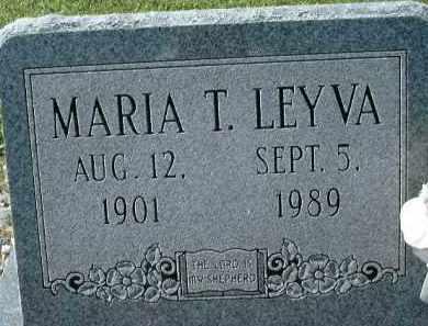 LEYVA, MARIA T. - Collier County, Florida | MARIA T. LEYVA - Florida Gravestone Photos