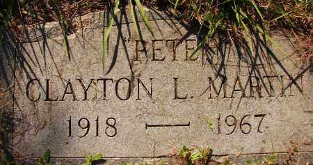 "MARTIN, CLAYTON L. ""PETE"" - Collier County, Florida | CLAYTON L. ""PETE"" MARTIN - Florida Gravestone Photos"