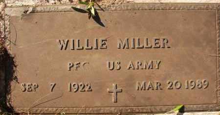 MILLER (VETERAN), WILLIE - Collier County, Florida | WILLIE MILLER (VETERAN) - Florida Gravestone Photos